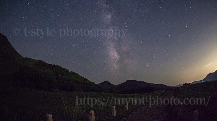 曽爾高原で見る天の川