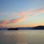 フィルターを使って琵琶湖の夕焼けを撮影してみた