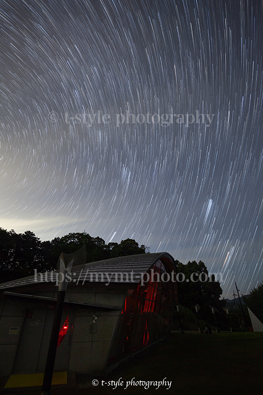 みさと天文台で撮影した星グル写真