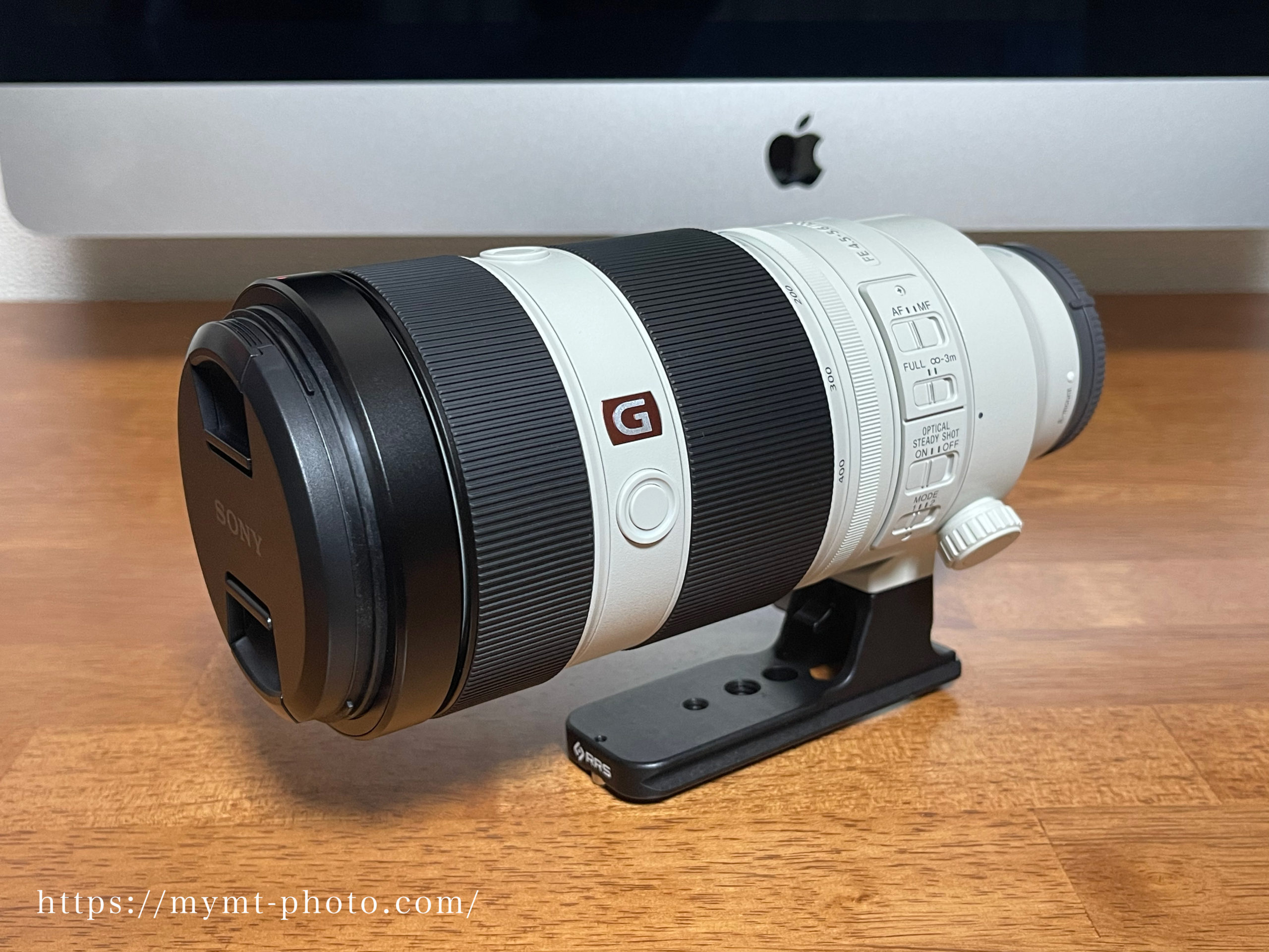 ソニー FE 100-400mm F4.5-5.6 GM OSS SEL100400GMにReally Right Stuff製100-400のフットを装着
